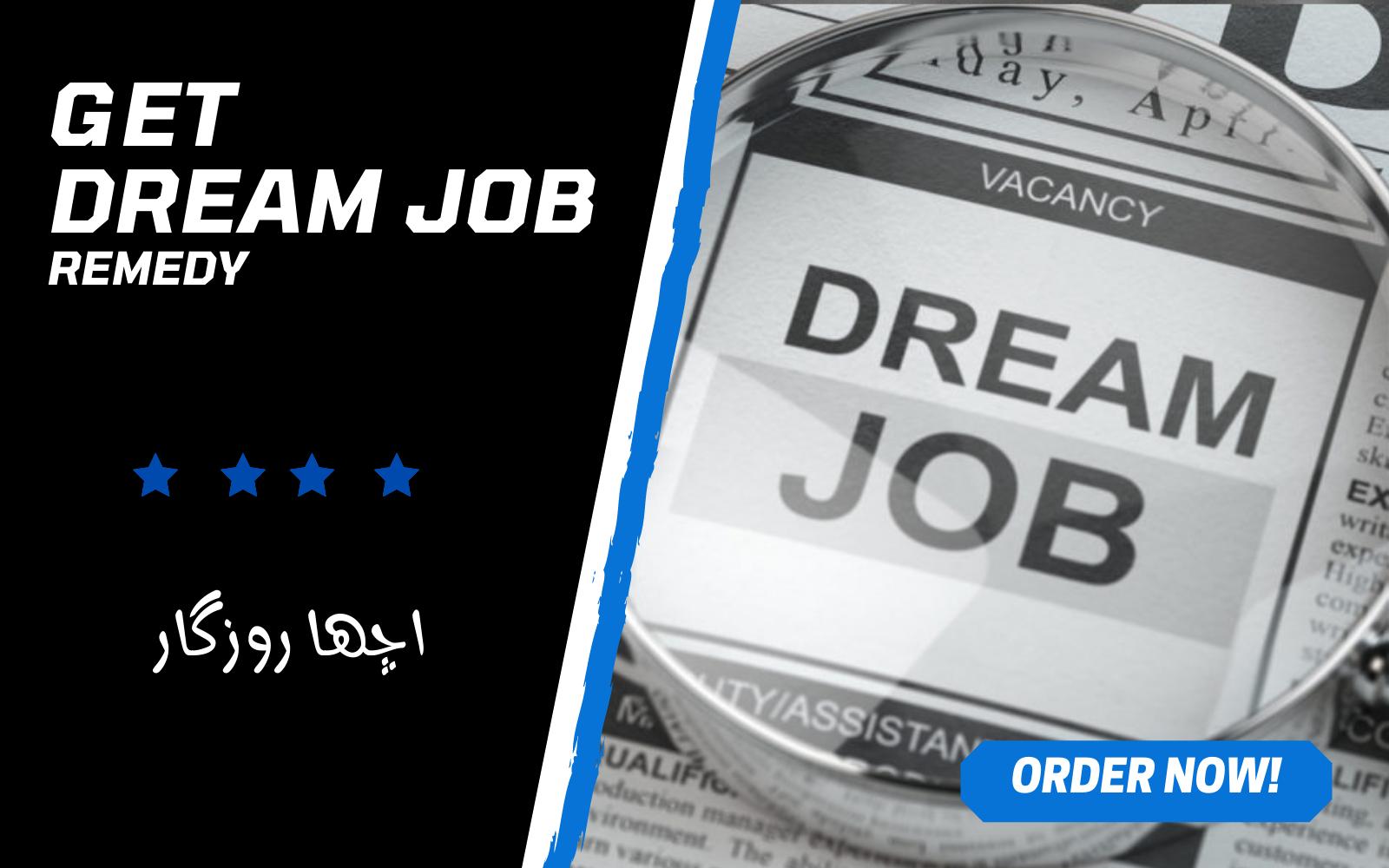 Will Cast a Dream Job Employment Spell