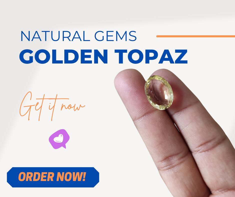 Real Topaz Gemstone