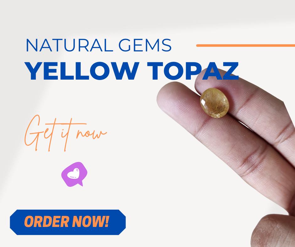 Buy Yellow Topaz Online