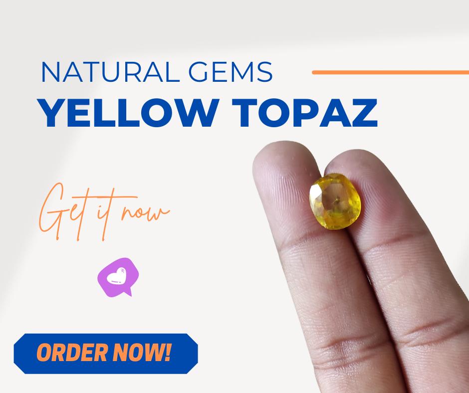 Yellow Topaz Gemstone in Pakistan