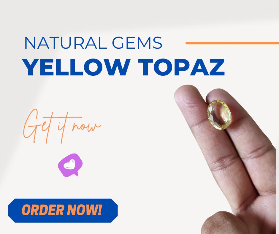 Yellow Topaz in Best Price