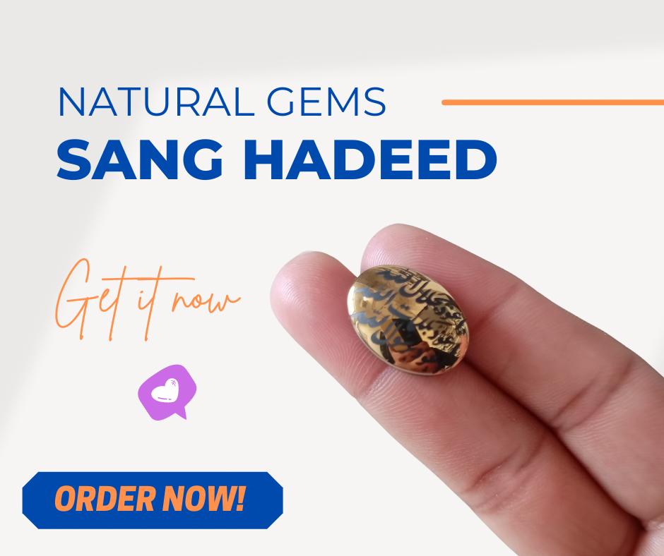 Buy Original Sang-e-Hadeed Stone in Pakistan
