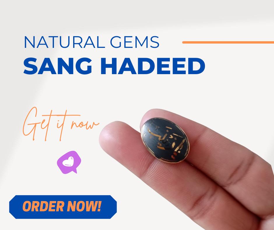 Sang-e-Hadeed For Men